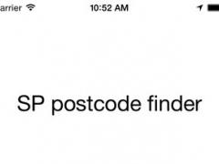 SP Postcode Finder 1.0 Screenshot