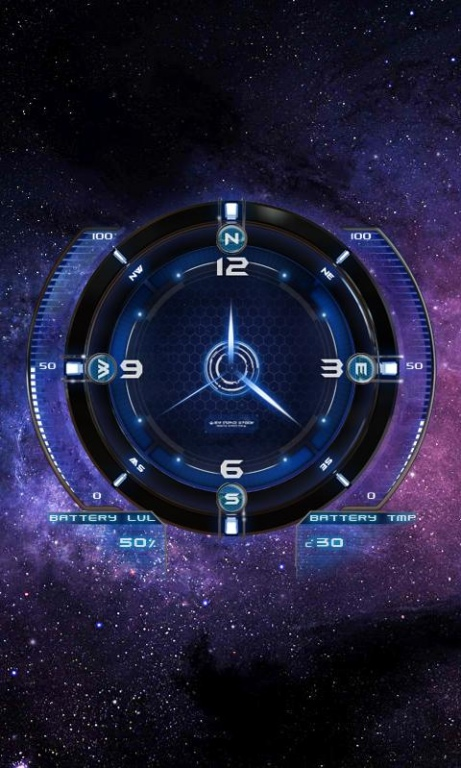 Space Compass Live Wallpaper 17 Free Download