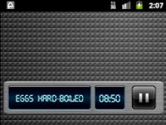 Space Kitchen Timer Widget 1.1 Screenshot