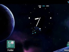 Space Life Theme GO Launcher 0.1 Screenshot