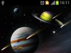 Space live wallpaper PRO 1.0.1 Screenshot