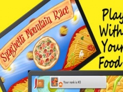 Spaghetti Mountain Race 2 - Crazy Fun Flying Food Race Game 1.2 Screenshot
