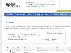 SpamDrain Professional 1.0 Screenshot