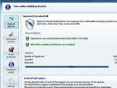 SpamLock Security Wall 1.0 Screenshot