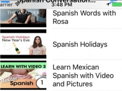 Spanish Conversation Courses 2.0 Screenshot