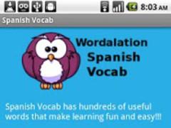 Spanish Vocab 1.1.0 Screenshot