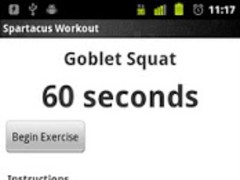 Spartacus Workout (BETA) 0.25 Screenshot