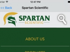 Spartan Scientific Mobile 1.2 Screenshot