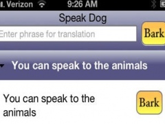 Speak Dog 1.1 Screenshot