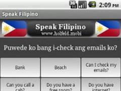 Speak Filipino Free 1.0 Screenshot
