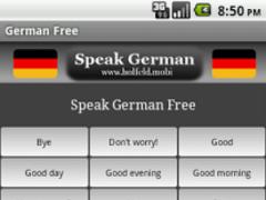 Speak German Free 1.3 Screenshot