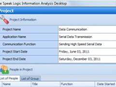 Speak Logic Information Analysis Desktop 1.1 Screenshot