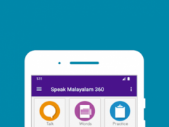 Speak Malayalam 360 3.0 Screenshot