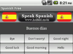 Speak Spanish Free 1.9 Screenshot
