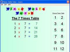 Speaking Times Table Tutor 1.0.2 Screenshot
