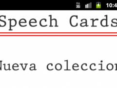 Speech Cards 2.2.1 Screenshot