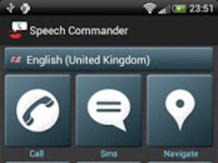 Speech Commander Free 1.23 Screenshot