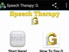 Speech Therapy G 1.0 Screenshot