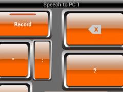 Speech to PC 1.9.0 Screenshot