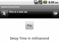 SpeechJammer for Android 1.3 Screenshot