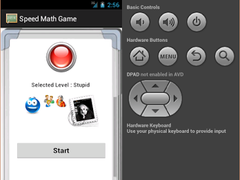 Speed ​​Math Game 2.0 Screenshot