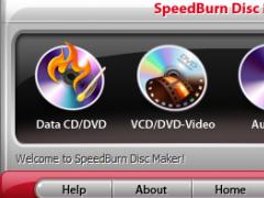SpeedBurn Disc Maker 7.8.5 Screenshot