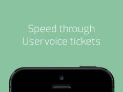 Speeding Ticket: speed through Uservoice Helpdesk support tickets 1.6 Screenshot