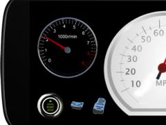 Speedometer Game 2.0.0 Screenshot
