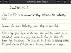 SpeedText HD 1.3.1 Screenshot