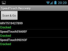SpeedTouch/Thomson Recovery 1.4 Screenshot