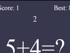 Speedy Calculations Maths Puzzle 1.0 Screenshot