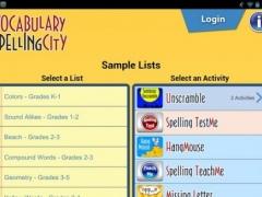 SpellingCity 1.9.8 Screenshot