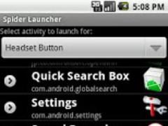 Spider Launcher 1.8 Screenshot