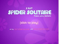 spider solitaire, 2 suit 1.0 Screenshot