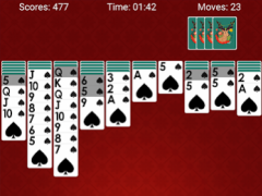 Spider Solitaire - Classic Card Games 3.4 Screenshot