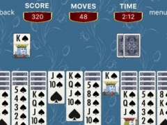 Spider Solitaire - Spiderette Patience Card & Tic Tac Toe Puzzle Game 1.0 Screenshot