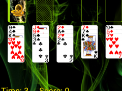 Spider Solitaire (Web rules)  Screenshot