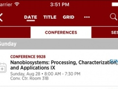 SPIE Conferences 6.6.5 Screenshot