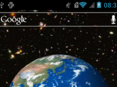 Spinning earth Live WP 1.1 Screenshot