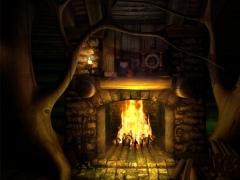 Spirit of Fire 3D Screensaver 2.6 Screenshot