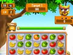 Splash Garden Fruit Mania Match 3 1.0 Screenshot