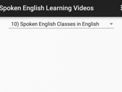 Spoken English Learning Videos 1 0 Free Download