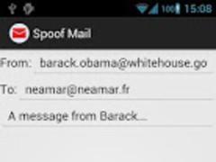 Spoof Mail 1.0.1 Screenshot