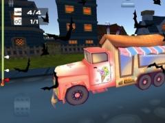 Spooky Zombie Town Car Race Pro 1.0 Screenshot