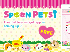 Spoon Pets -Battery- Free 1.0.0 Screenshot