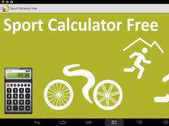 Sport Calculator Free 2.20 Screenshot