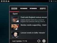 Sport News Widget 1.1 Screenshot