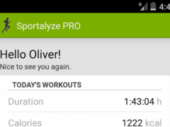 Sportalyze Sports Tracker  Screenshot