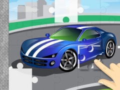 Sports Cars & Monster Trucks Jigsaw Puzzles : free logic game for toddlers, preschool kids and little boys 1.0 Screenshot