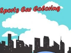 Sports Cars Racing Speed Coloring Book 1.0 Screenshot